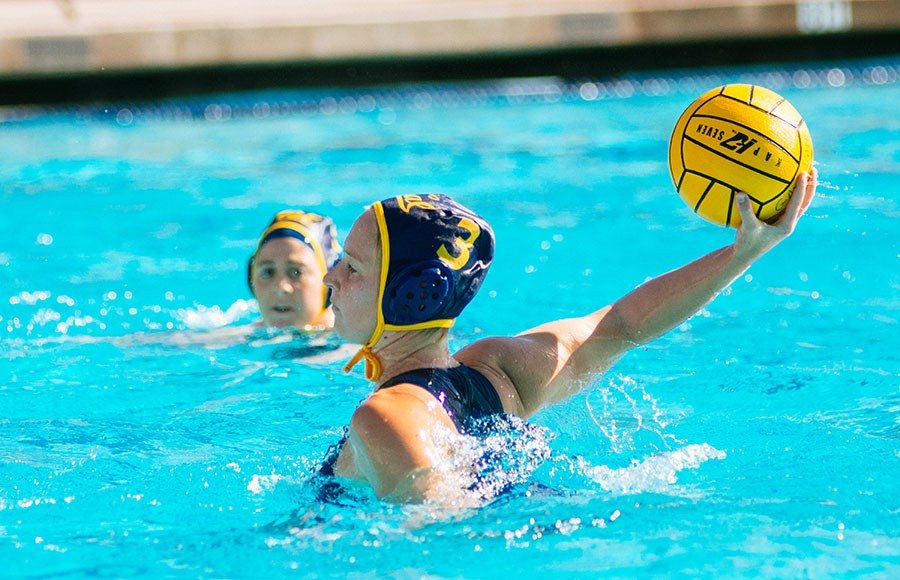 9a58d18f3c Dóra Antal stars in No. 2 Cal women's water polo's perfect Cal Cup