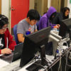 Students working in a computer science lab. Data science is a growing field UC Berkeley is focusing on.