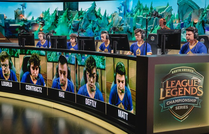 Week 9 Day 2 at 2018 NA LCS Spring Split in Los Angeles, California, USA on 18 March 2018.