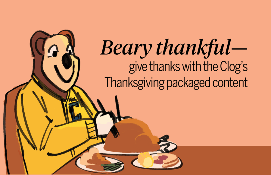 Happy Thanksgiving >> Editors Note Happy Thanksgiving From The Clog