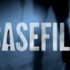 The words 'casefile' displayed over an image of a person's legs
