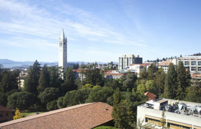 A view of Berkeley from a high elevation.