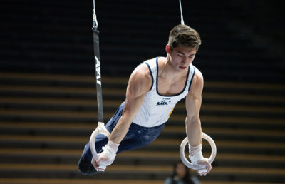 Mens gymnastics rings event