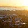 View of Berkeley and the bay