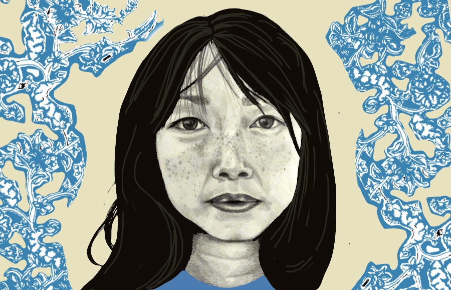 Illustration of Lulu Wang