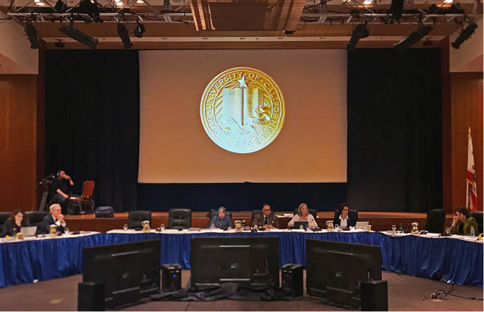 UC Board of Regents discusses budgets, academic programs, tuition plan