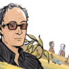 Illustration of Abbas Kiarostami