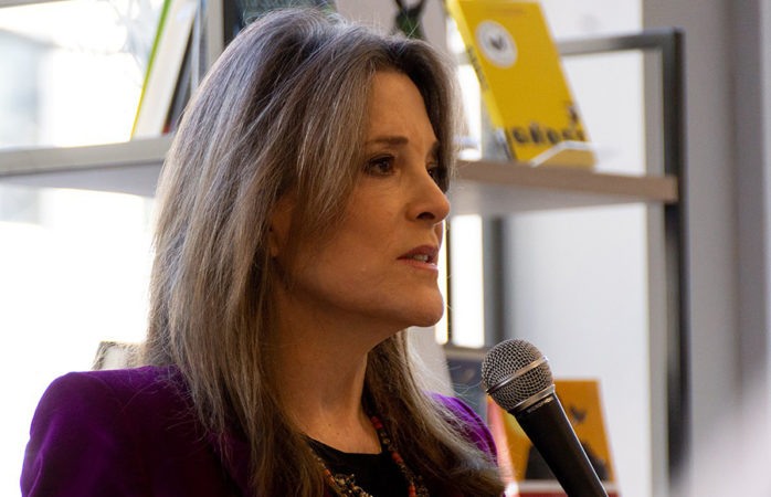Berkeley Forum cancels event with presidential candidate Marianne Williamson