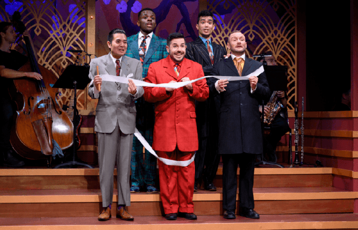 42nd Street Moon's 'Hot Mikado' does the best it can with an outdated musical