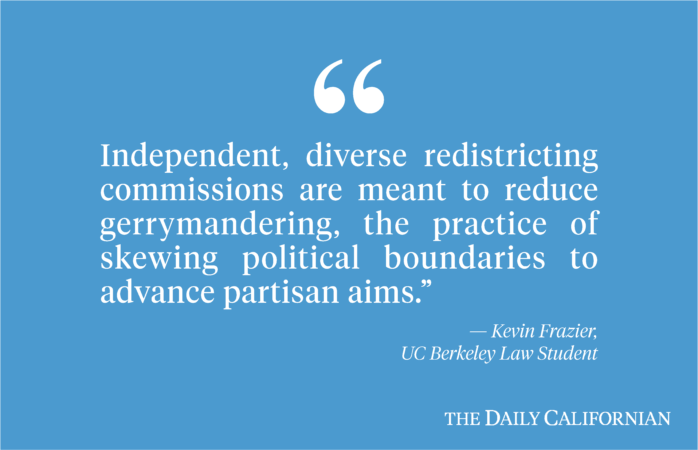 Redistricting commission unlikely to achieve its goal