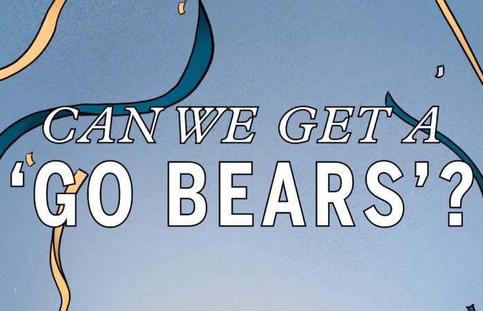 Editors' Note: Can we get a 'Go Bears'?