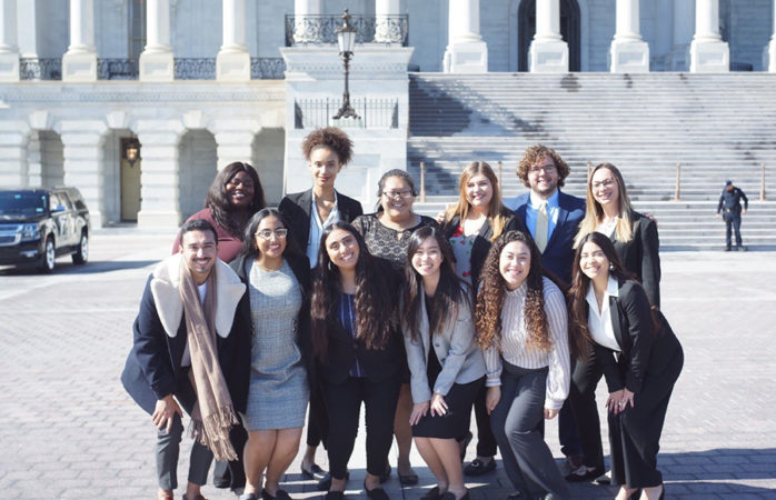 UC Berkeley students lobby in Washington DC for higher education issues