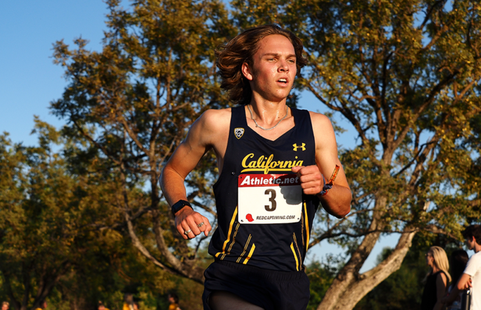 Photo of Shane Bissell of Cal Cross Country