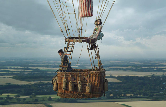'The Aeronauts' falls flat in delivering a thrilling ballooning biopic