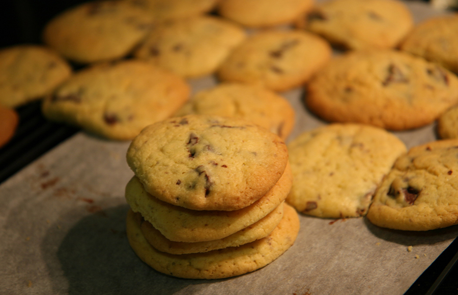 A chocolate chip cookie recipe that'll bake your day batter