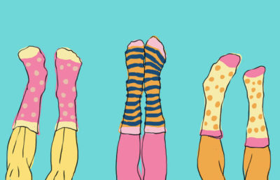Illustration of socks