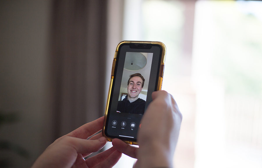 Photo of friend on facetime