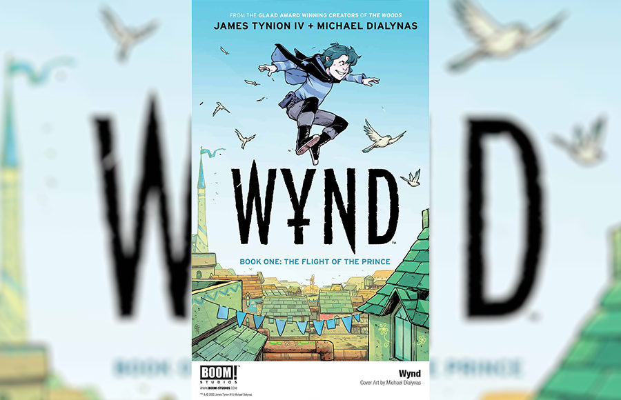 Wynd review comic fantasy