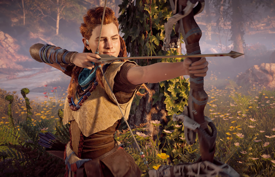 Horizon Zero Dawn on PC features dynamic gameplay marred by technical issues - Daily Californian