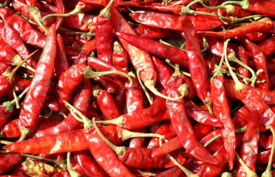 Photo of spicy peppers