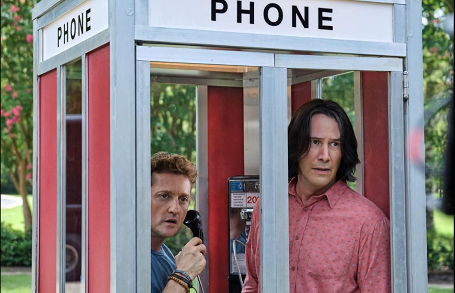 """Photo from tv show, """"Bill & Ted Face the Music"""""""