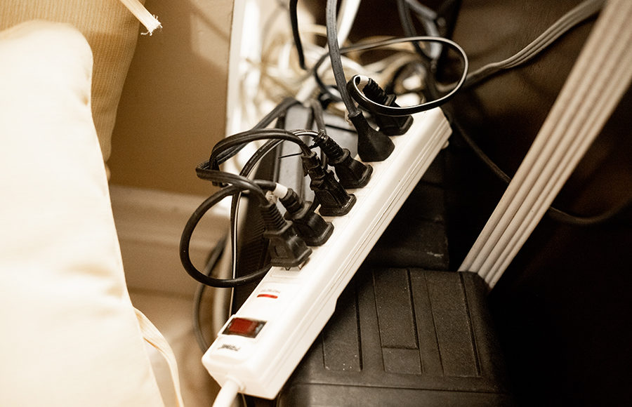 Photo of Power strip / outlets