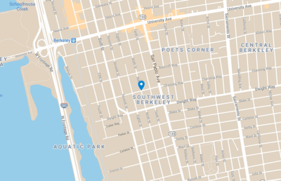 Google maps image of location of shooting