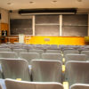 Photo of empty lecture hall