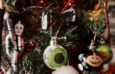 Photo of Halloween Christmas Ornaments