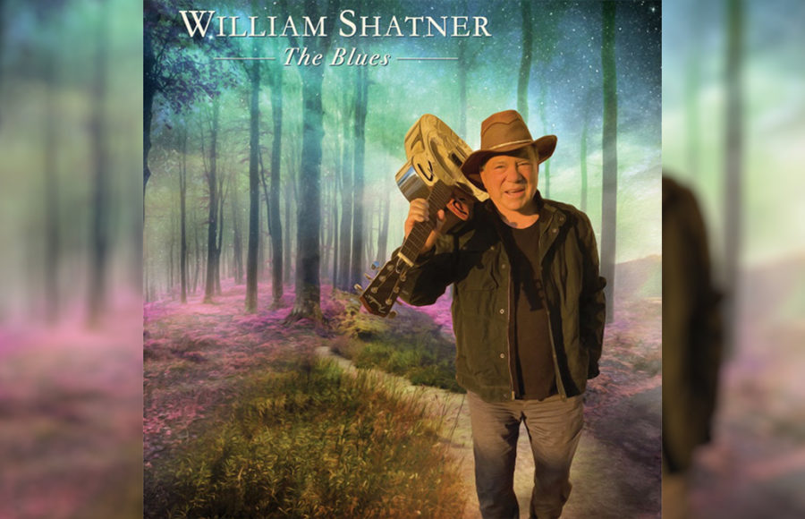 """Photo of William Shatner's """"The Blues"""""""
