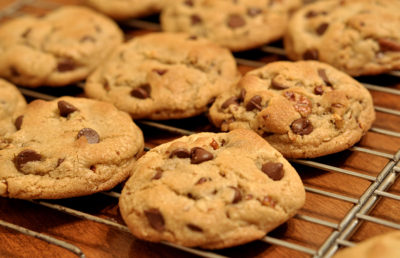 Photo of chocolate chip cookies