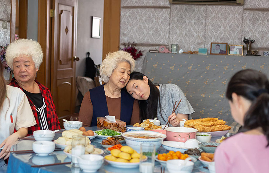 "Photo from the movie, ""The Farewell"""