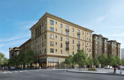 Photo of 6 new affordable housing units on 2119 University Ave