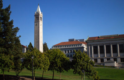 Photo of Memorial Glade + Sather Tower