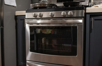 Photo of an oven