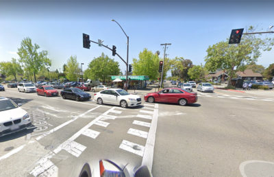 Google maps photo of the corner of Telegraph and Ashby avenue