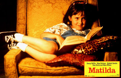 Photo of Mara Wilson in Matilda
