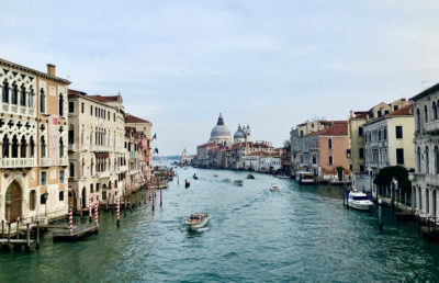 Photo of Venice water channel