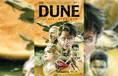 Photo of Dune Comic book