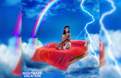 "Photo of Rico Nasty's new album, ""Nightmare Vacation"""
