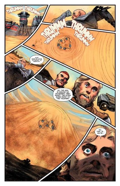 "Page from ""Dune"" Comic book"