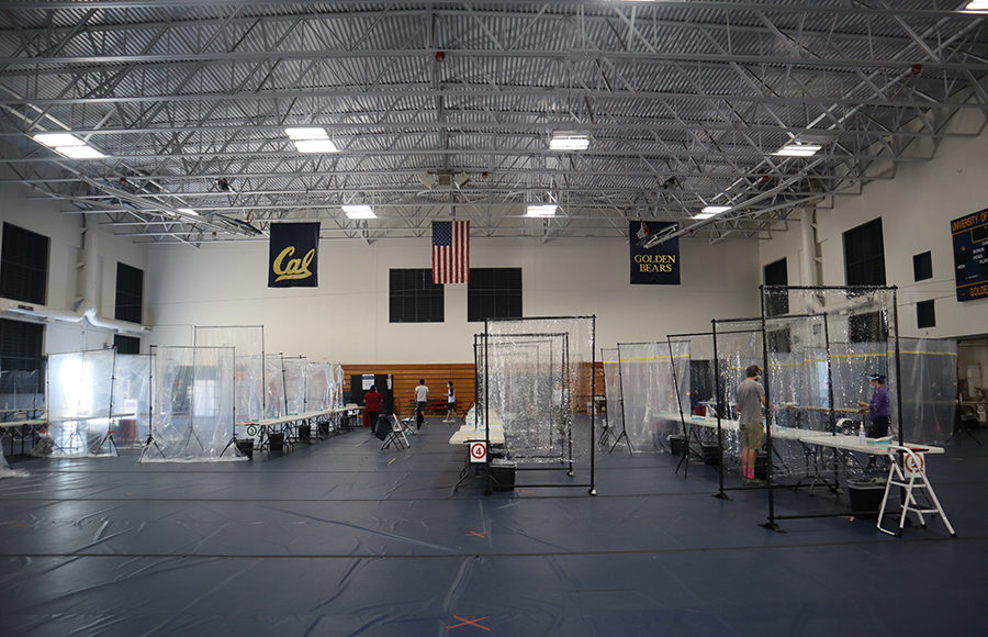 Photo of RSF testing center