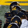 Photo of Cal Football helmets
