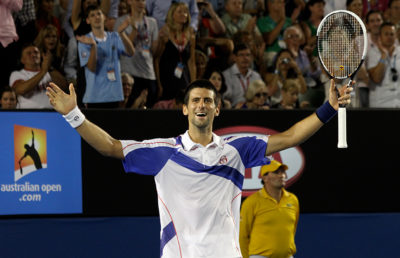 Photo of Djokovic