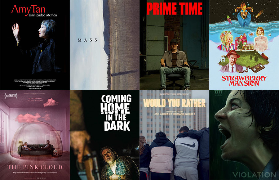 Image of various film posters