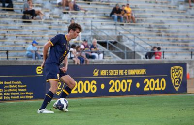 Photo of Cal Men's Soccer Number 9