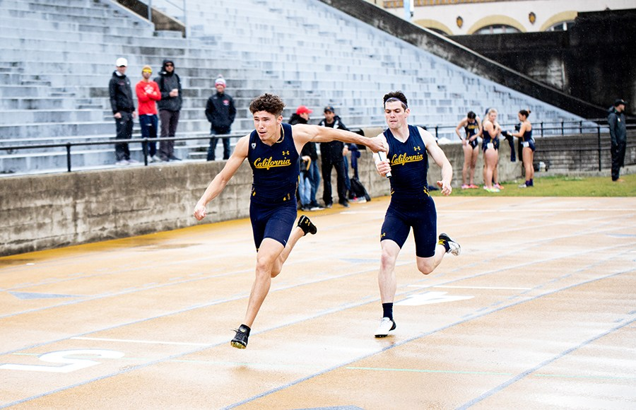 Photo of Cal Men's Track and Field