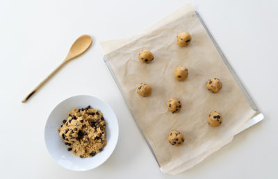 Photo of chocolate chips cookies