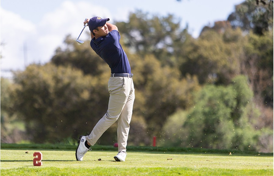 Photo of Cal Men's golf