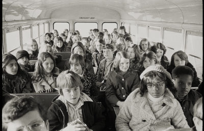 Photo of busing in North Carolina